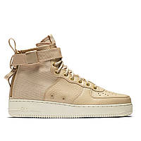 Оригинальные кроссовки NIKE SPECIAL FIELD AIR FORCE 1 MID BEIGE / OFF-WHITE
