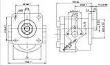 Насос шестерневий Caproni 15A(C)...X881, фото 2