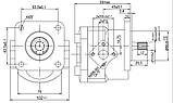 Насос шестеренный Caproni 15A(C)...X883, фото 2