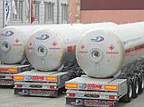 Автоцистерна DOĞUMAK 35 м³ для перевозки газа, фото 2