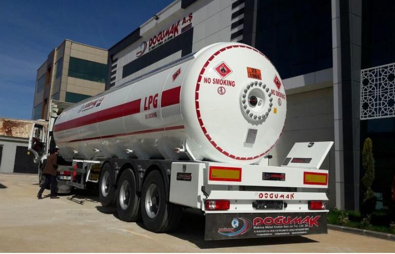 Автоцистерна DOĞUMAK DM-LPG 35 м3 для перевезення газу