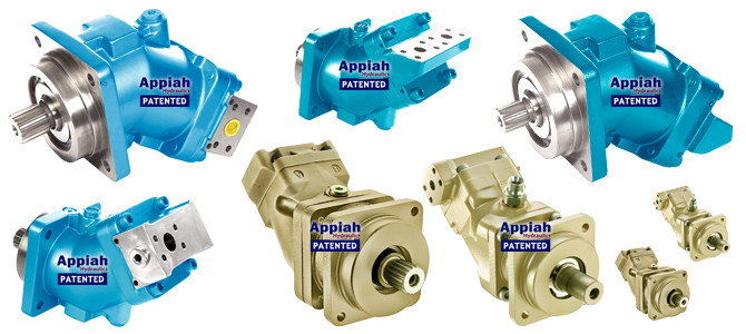 Аксиально-поршневой насос (ISO) С ИЗОГНУТОЙ ОСЬЮ Appiah Hydraulics