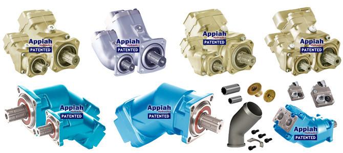 Аксіально-поршневий насос (DIN) З ВИГНУТОЮ ВІССЮ Appiah Hydraulics