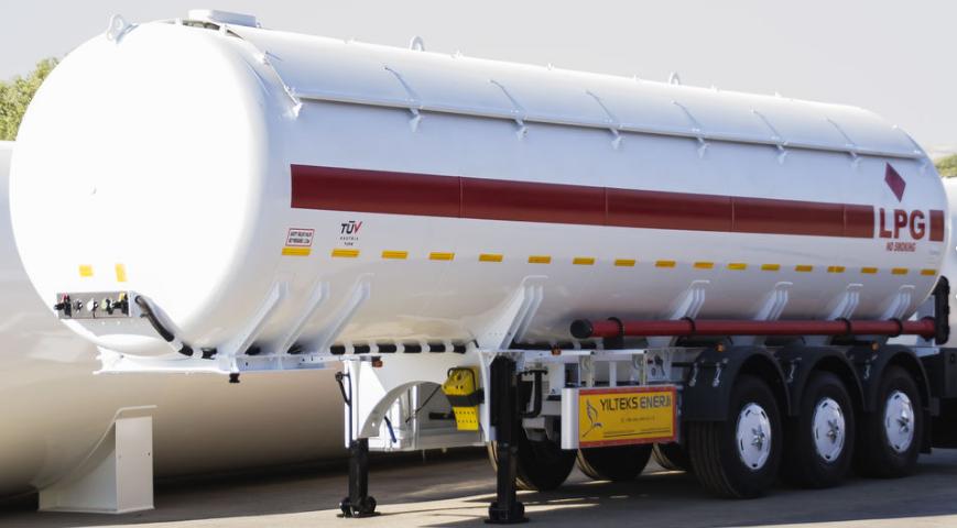 Автоцистерна  YILTEKS LPG Semi-Trailer  45 M3 для перевозки газа