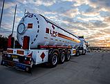 Автоцистерна  YILTEKS LPG Semi-Trailer  45 M3 для перевозки газа, фото 3