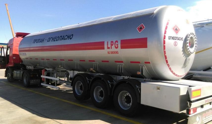 Автоцистерна DOĞUMAK LPG PROPAN-BUTAN 46м3 для перевезення газу