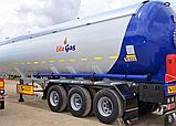 Автоцистерна YILTEKS Semi Trailer LPG Tank 57m3 для перевозки газа, фото 3