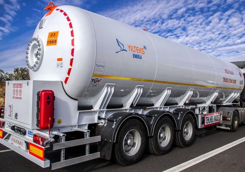 Автоцистерна YILTEKS LPG Trailer - ASME and ADR 46м3 для перевезення газу