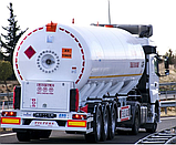 Автоцистерна YILTEKS LPG Trailer - ASME and ADR 46м3 для перевезення газу, фото 2