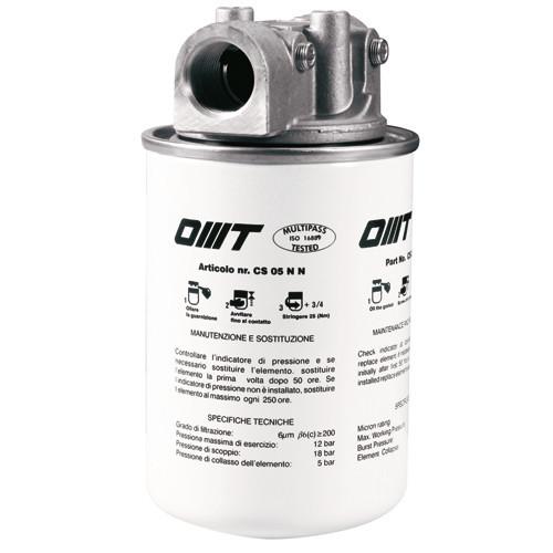 Фильтры картриджные OMT серии OMTI
