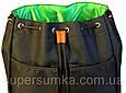 Удобный рюкзак 14 л. Gin Double G, черный, фото 9