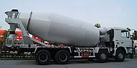 Аренда автобетоносмесительной установки, объем 12м3