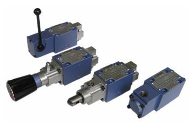 Гідророзподільники з гідравлічним управлінням WH10S12X