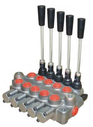 Гідророзподільник моноблочний 5 секцій (40л/хв) Appiah Hydraulics