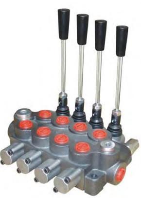 Гидрораспределитель 4 секции (80л/мин) Appiah Hydraulics
