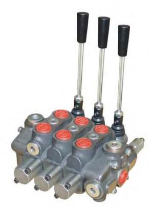 Секционный распределитель 3 секции (80л/мин) Appiah Hydraulics