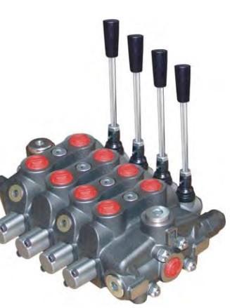 Секційний розподільник 4 секції (150л/мін) Appiah Hydraulics