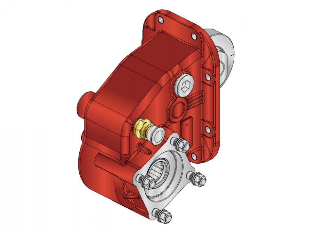 Коробка відбору потужності NSN.01 Appiah Hydraulics