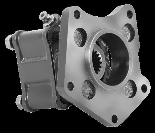 Коробка отбора мощности VLV.3.5152 Appiah Hydraulics