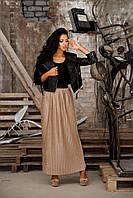 Куртка-косуха короткая, цвет: черный, размер: 42, 44, 46, 48