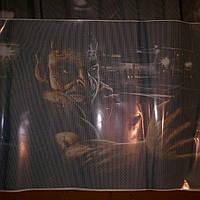 Наклейка на заднее стекло автомобиля 3D 130cm*70cm, фото 1