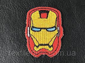 Нашивка Залізна людина / Iron man 36x50 мм