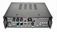 Усилитель UKC AV-323BT 2*120W+КАРАОКЕ+ 2 микрофона
