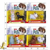 Набор фигурок героев мультфильма Тайная жизнь домашних животных