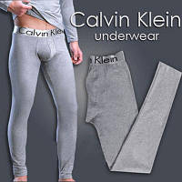 Мужские подштанники(кальсоны) ТМ Calvin Klein. Цвет: серый. Артикул: CK-tr1-S-d