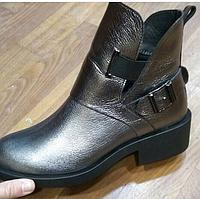 Ботинки осенние кожаные!!!Ботинки зимние кожаные!!!