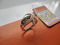 Женское золотое кольцо 3.87 грамма 19 размер ЗОЛОТО 585 пробы