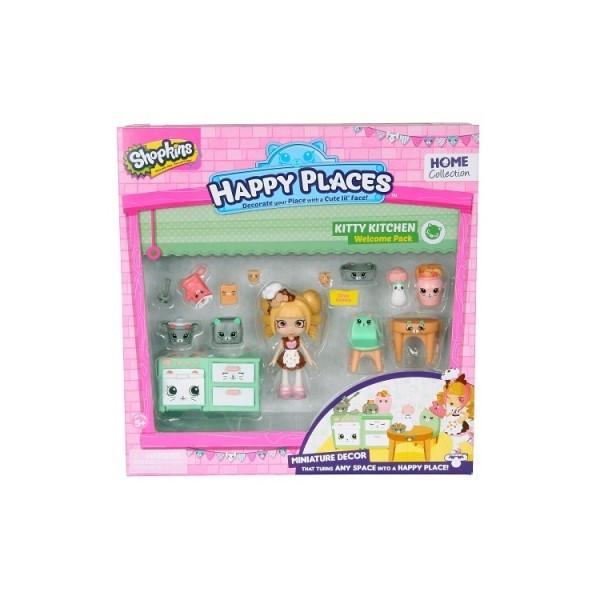 Игровой набор с куклой HAPPY PLACES S1 КУХНЯ КОКО КУККИ