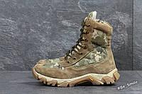 Берцы военные мужские (деми, теплая зима)