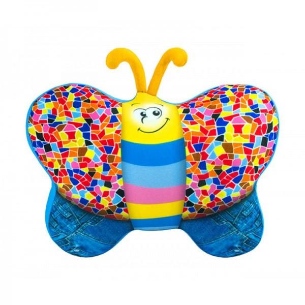 Мягкая игрушка антистресс Бабочка 27х25см SOFT TOYS