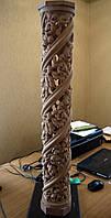 Фигурные резные балясины столбы 1 м