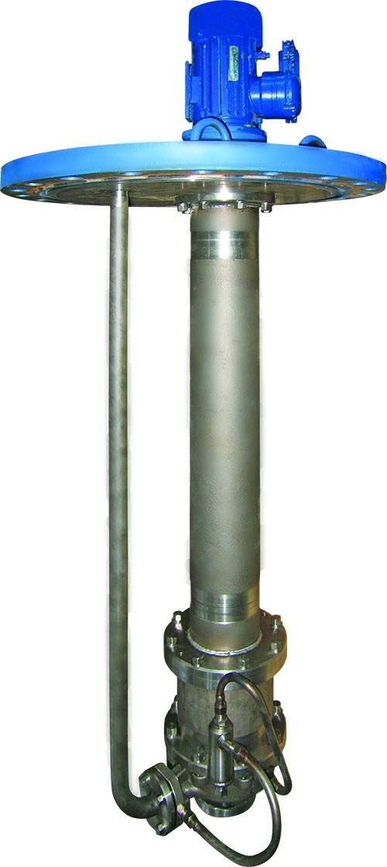 Полупогружной вертикальный электронасос серии ГХИ