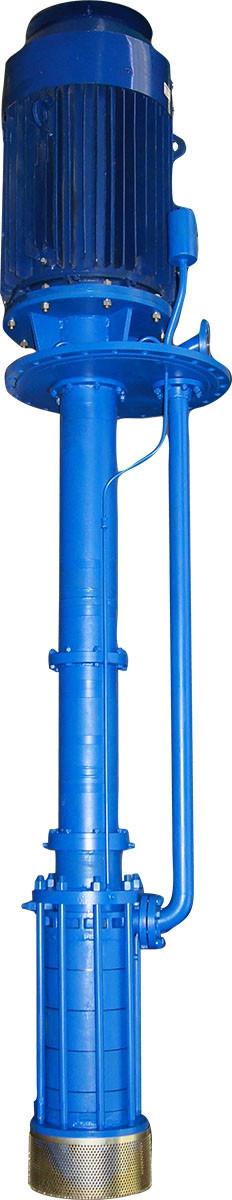 Вертикальний полупогружной насос серії ВНД