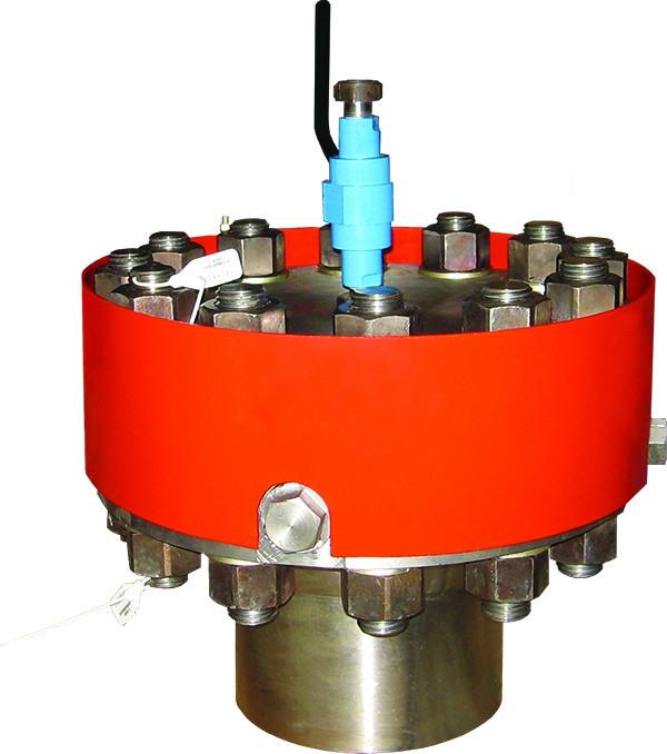 Фланец вантуза с герметизирующей пробкой