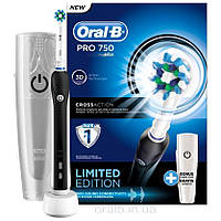 Зубная электрощетка Oral-B PRO 750 black
