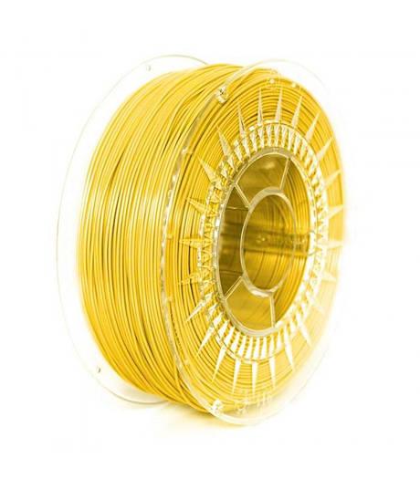 PLA 1.75 мм Пластик Для 3D Печати Devil Design Ярко-Желтый (Польша)