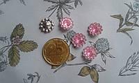 Кабошон - кристал квітка , розовий колір