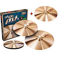 Набор тарелок для ударных, Hi-Hat, Crash, Ride Paiste 8 Rock Set