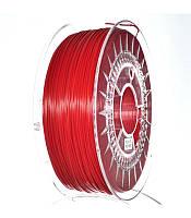 PLA 1.75 мм Пластик Для 3D Печати Devil Design Ярко-Красный (Польша)