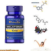 Мелатонин 1 мг - гормон для омоложения и сна (90 таблеток, melatonin 1mg)