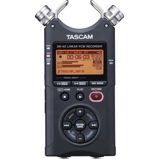 Цифровой диктофон Tascam DR-40 - ★★★★★ Premium в Киеве