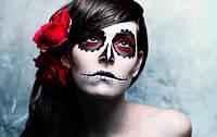 Одяг і макіяж для Хеллоуіна