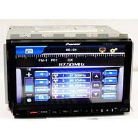 "2DIN Магнитола Pioneer PI-803 GPS 7""+GPS-MР3-DVD+TV+Fm-тюнер"