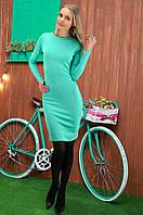 Платье женское, цвет: ментол, размер: 42-44, 46-48