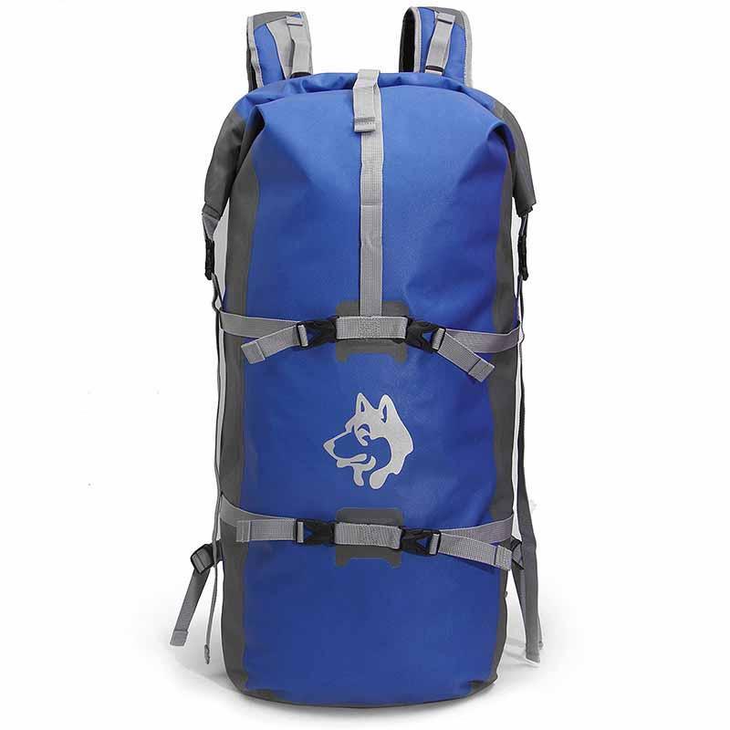 Рюкзак спортивный водонепроницаемый Jungle King 45L синий