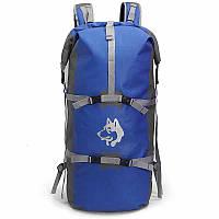 Рюкзак спортивный водонепроницаемый Jungle King 45L синий, фото 1